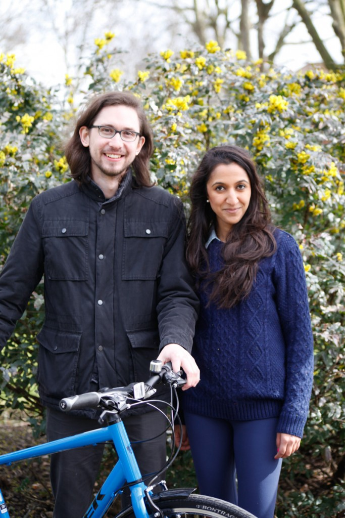 Ian Stride and Richa Bhalla